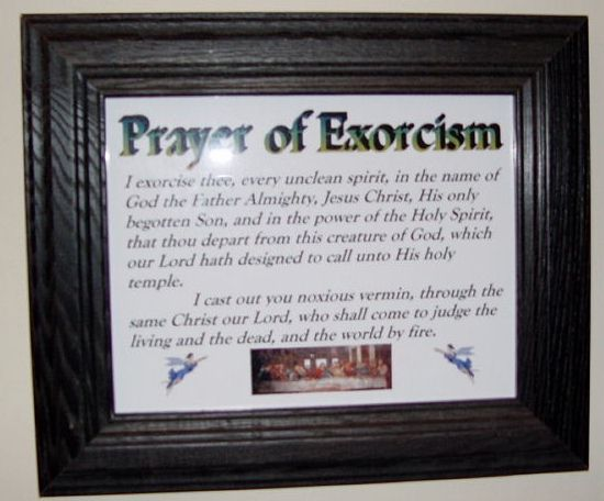 Prayer of Exorcism